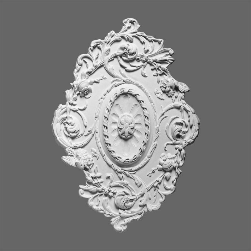 oval shaped ceiling rose