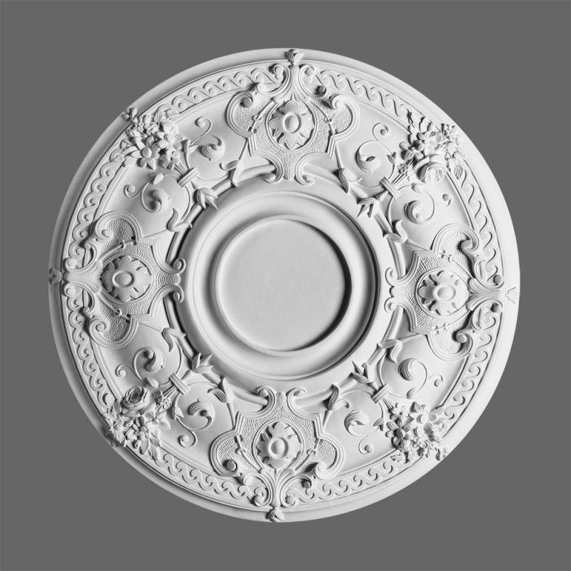Edwardian Ceiling Roses Decorative Polyurethane Mouldings