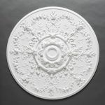 Large victorian ceiling rose