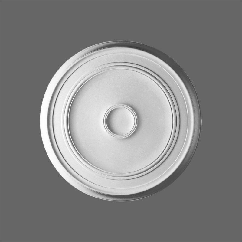 Plain lightweight ceiling rose