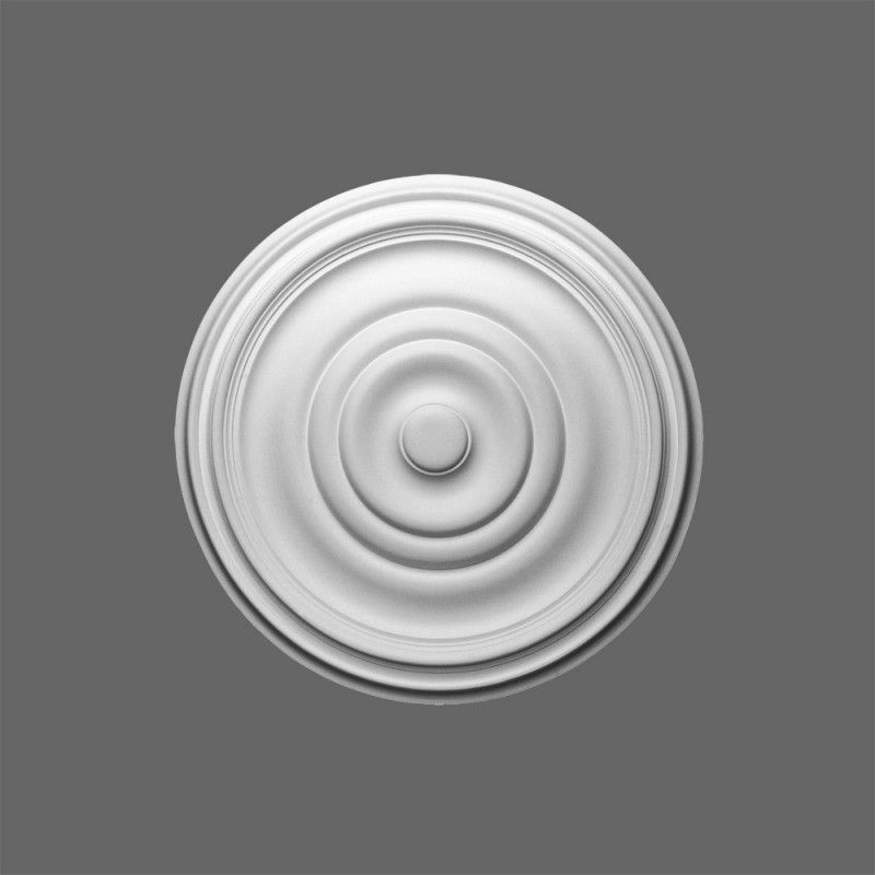 Medium sized plain ceiling rose