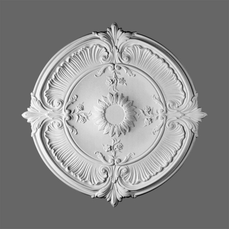 lightweight victorian ceiling rose