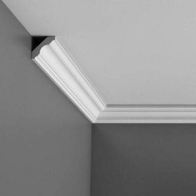 Small plain curved coving