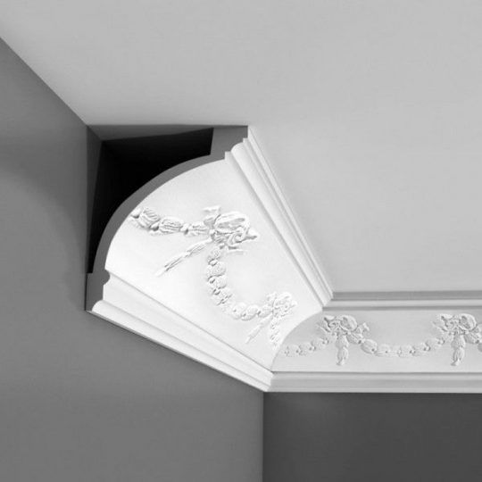 C218 Curved decorative coving