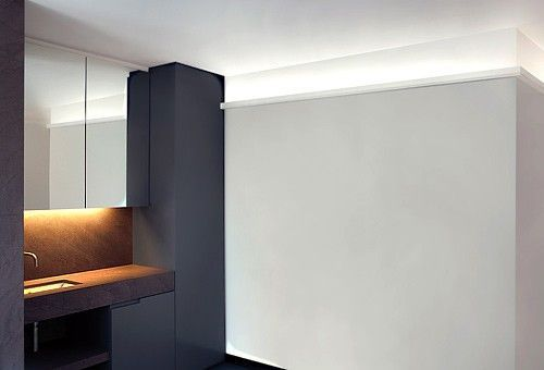 small uplighting coving cornice wm boyle interiors. Black Bedroom Furniture Sets. Home Design Ideas