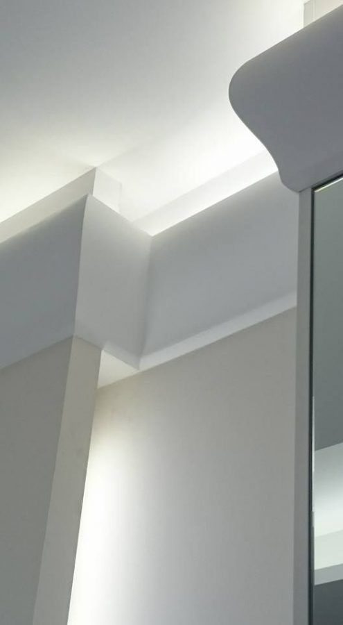 C371 Shade Uplighting Cornice Wm Boyle Interior Finishes