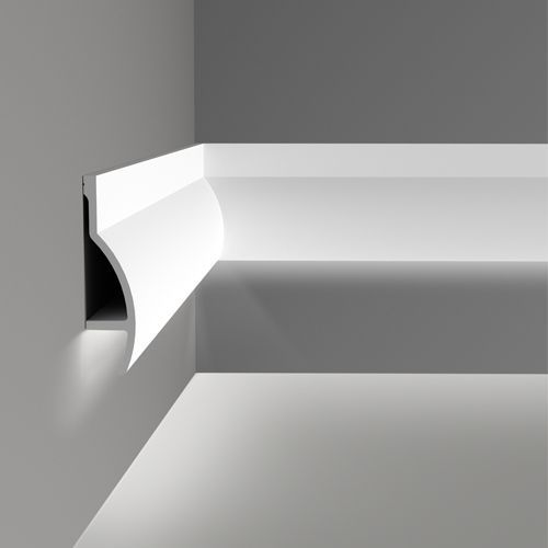 C372 Fluxus Uplighting Cornice Wm Boyle Interior Finishes