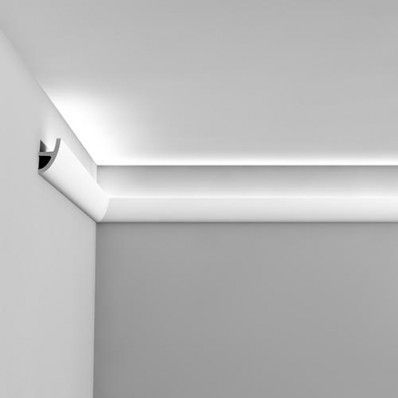 Flexible uplighting coving