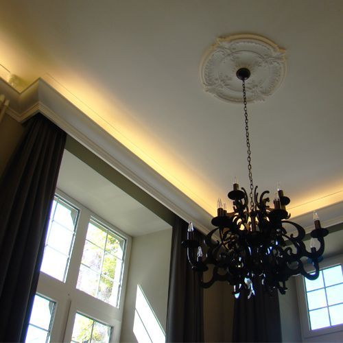 C900 Uplighting Cornice Wm Boyle Interior Finishes