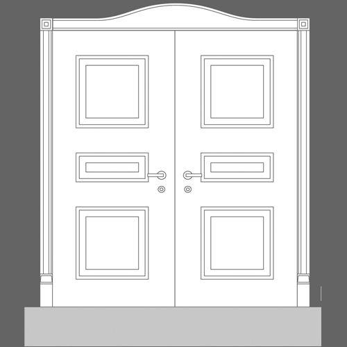 sc 1 st  Wm Boyle & D503 Raised Door Panel - Wm Boyle Interior Finishes