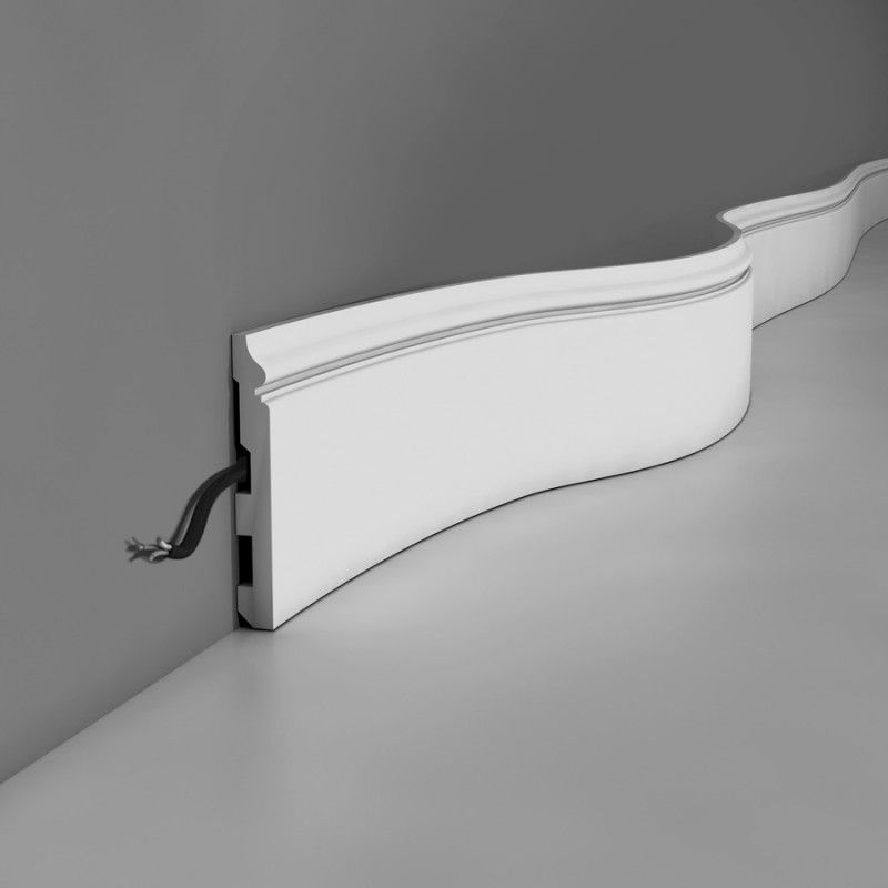 Flexible skirting boards