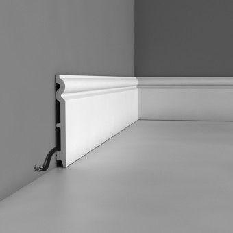 Lightweight skirting board