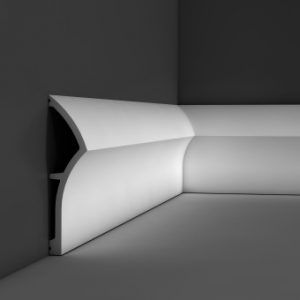 SX167 Dune contemporary skirting board