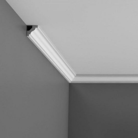 C230 small plain cornice for curved walls