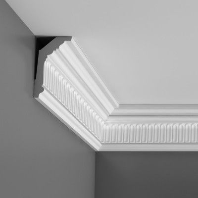 Fluted cornice designs