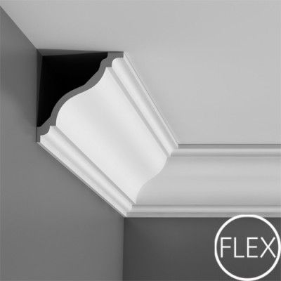 C333 Plain flexible coving