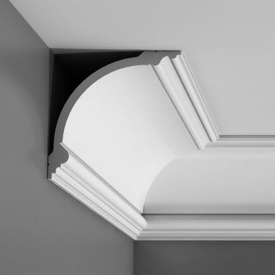 Large swans neck cornice