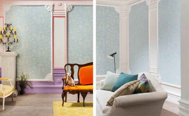 C338b Baroque French Style Cornice Wm Boyle Interior