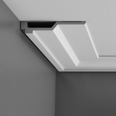 Orac C354 contemporary flat coving