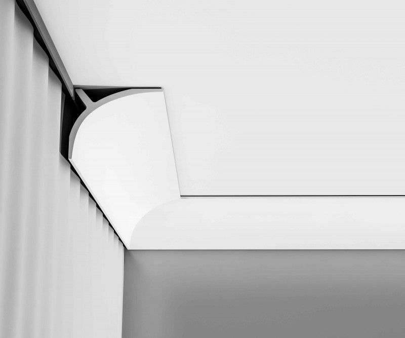 c991 curtain profile plain cornice wm boyle interior finishes c991 lighting coving