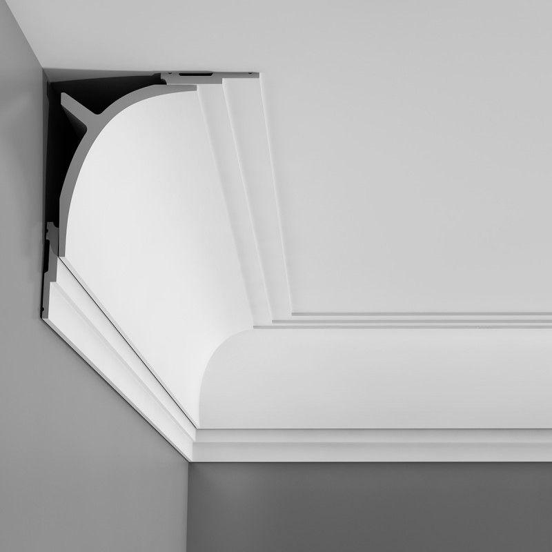 C991 Curtain Profile Plain Cornice Wm Boyle Interior