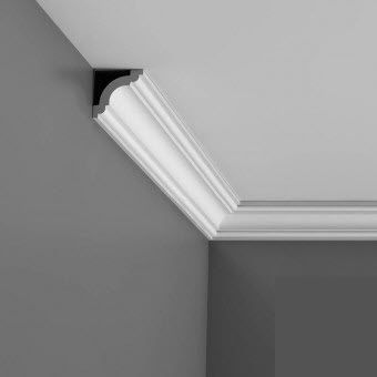 CX124 Small flexible coving for curved walls