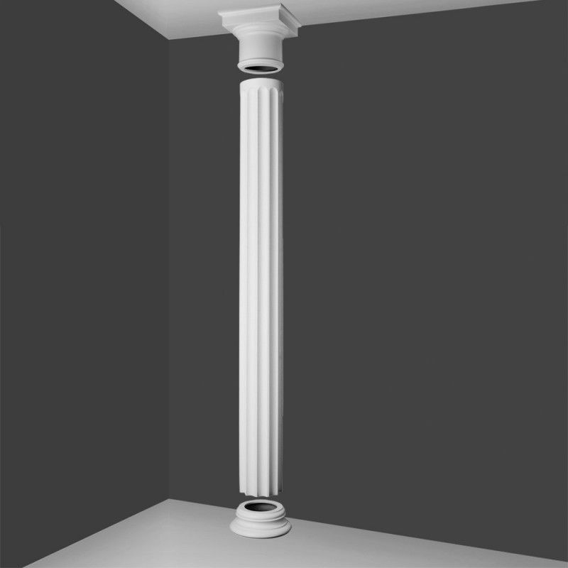 Kd5 doric style full column fluted barrel wm boyle for Decorative columns