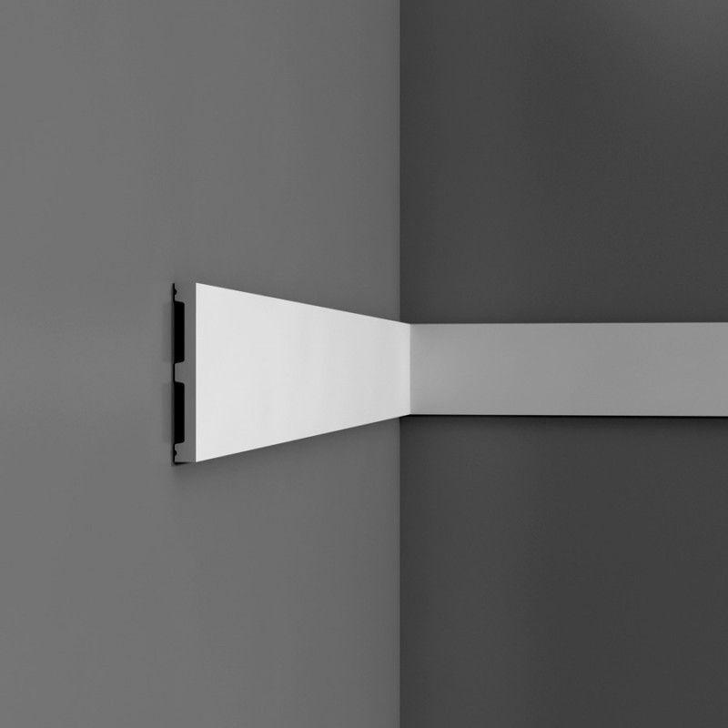 contemporary flat dado rail