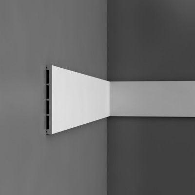 Flat wall mouldings