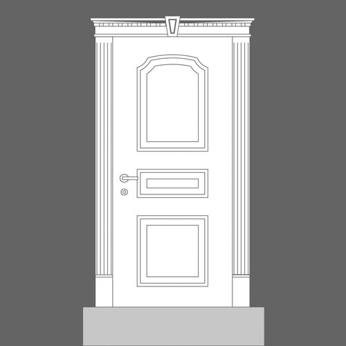 sc 1 st  Wm Boyle & K200 Fluted Pilaster / Door Architrave - Wm Boyle Interior Finishes pezcame.com