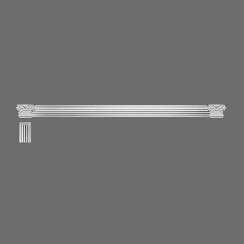 Exterior: K200 Fluted Pilaster / Door Architrave