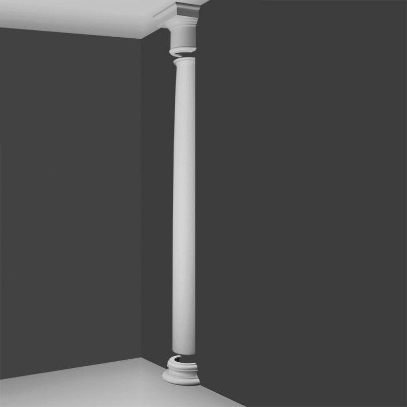 Kd1h Doric Style Half Column Plain Barrel Wm Boyle Interior Finishes