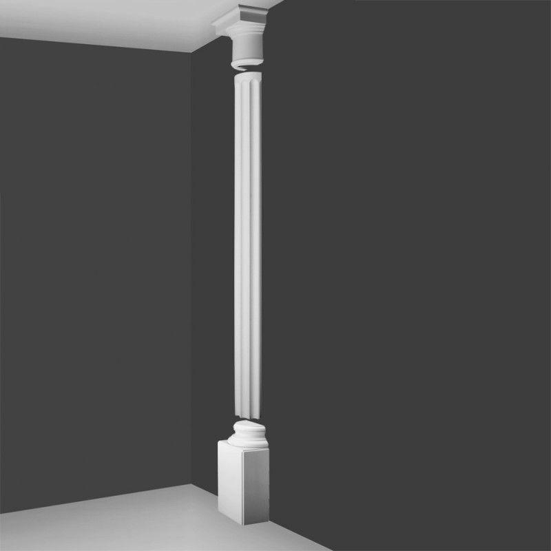 Kd6h Doric Style Half Column Fluted Barrel Wm Boyle