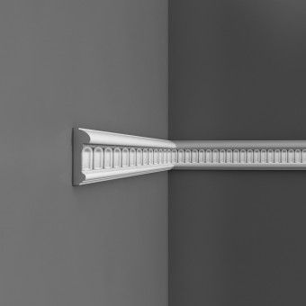 P7040 Decorative dado rail moulding with fluted design
