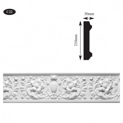 plaster cornice frieze