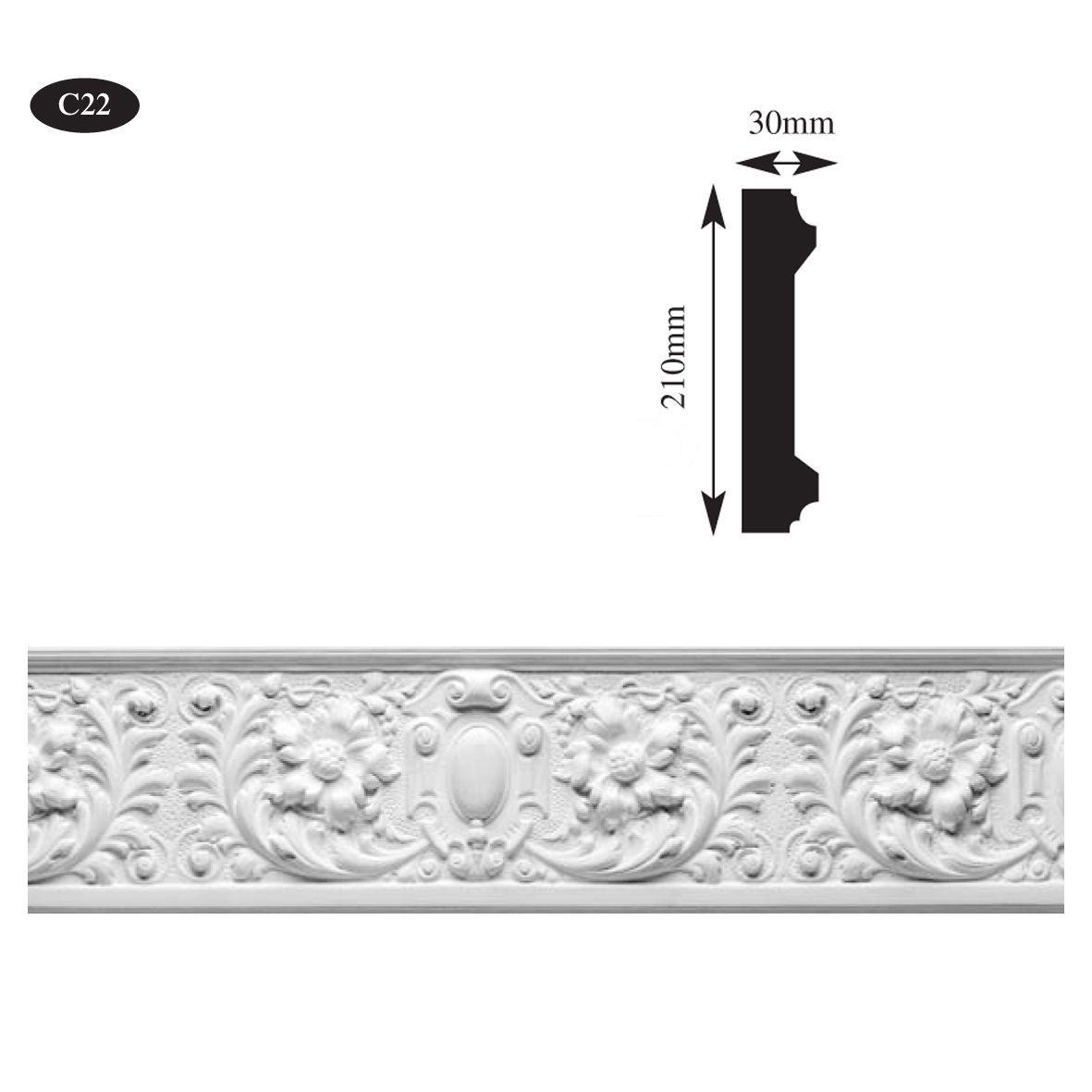 plaster cornice frieze
