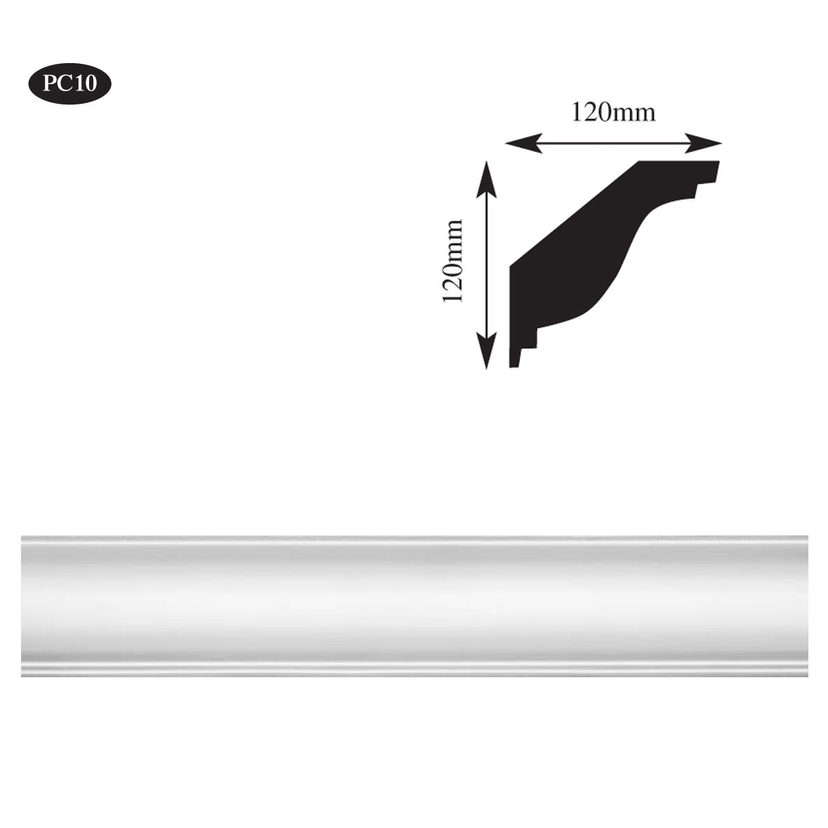 Pc10 Ogee Amp Step Plaster Coving Wm Boyle Interior Finishes