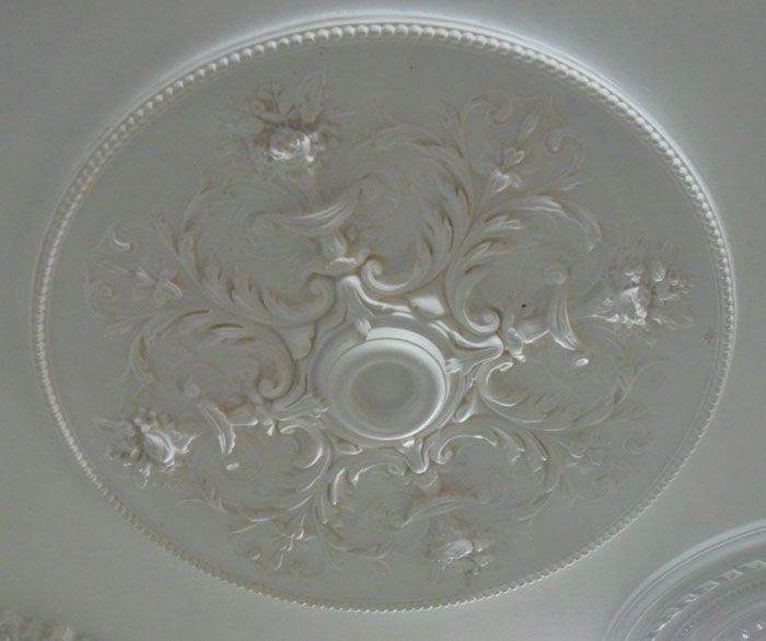 Cp36 Large Victorian Plaster Ceiling Rose 927mm Wm