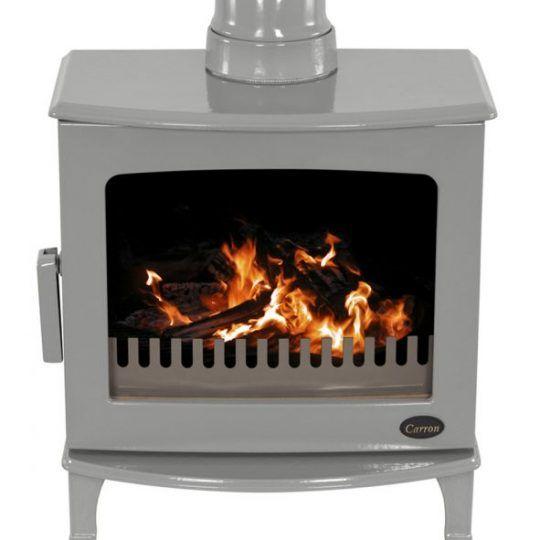 Carron Eco stove Ash Grey enamel