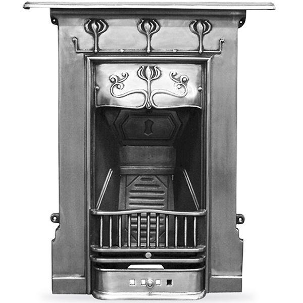 Abbott Cast Iron Combination Fireplace Wm Boyle Interior