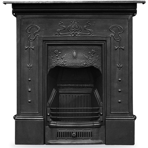 Bella Cast Iron Combination Fireplace Wm Boyle Interior