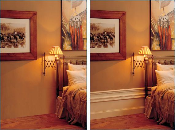 High Skirting Design Idea