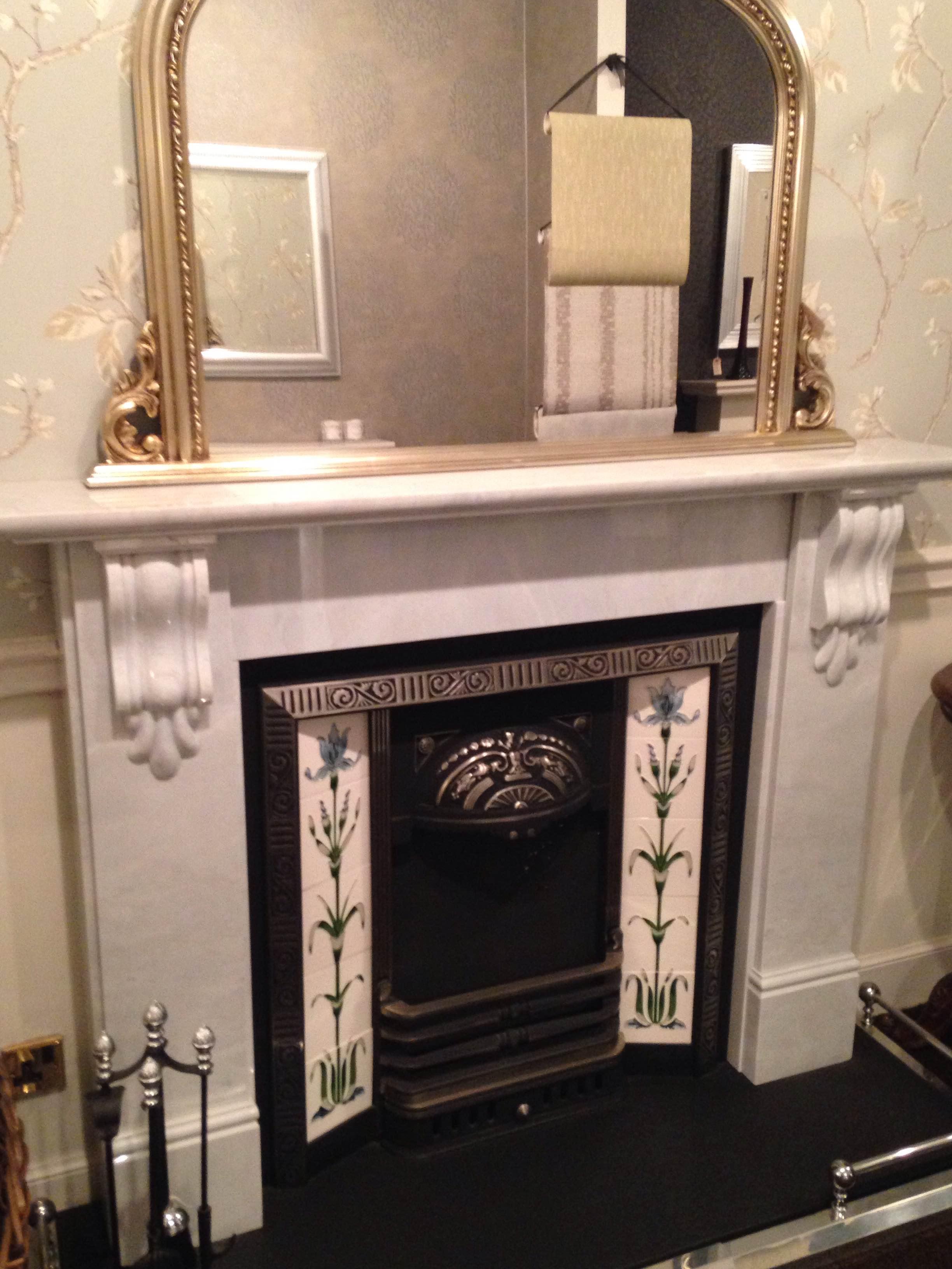 Victorian Corbel Marble Surround Wm Boyle Interior Finishes