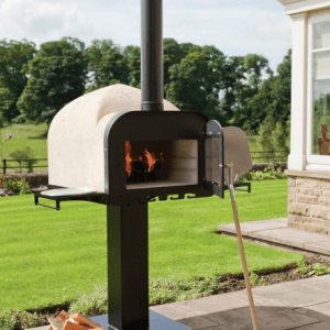 Esse fire stone outdoor oven with stand
