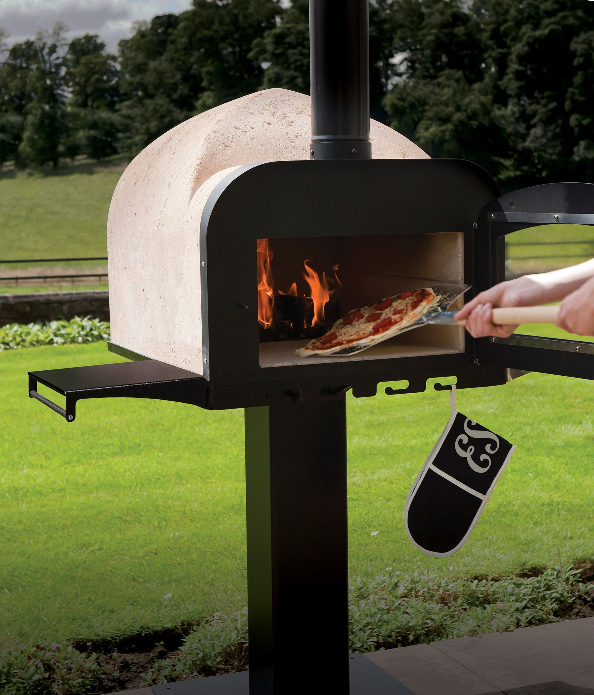 Esse fire stone outdoor pizza oven