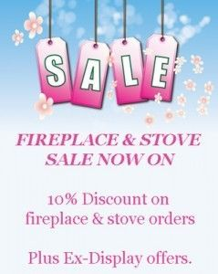 fireplace sale