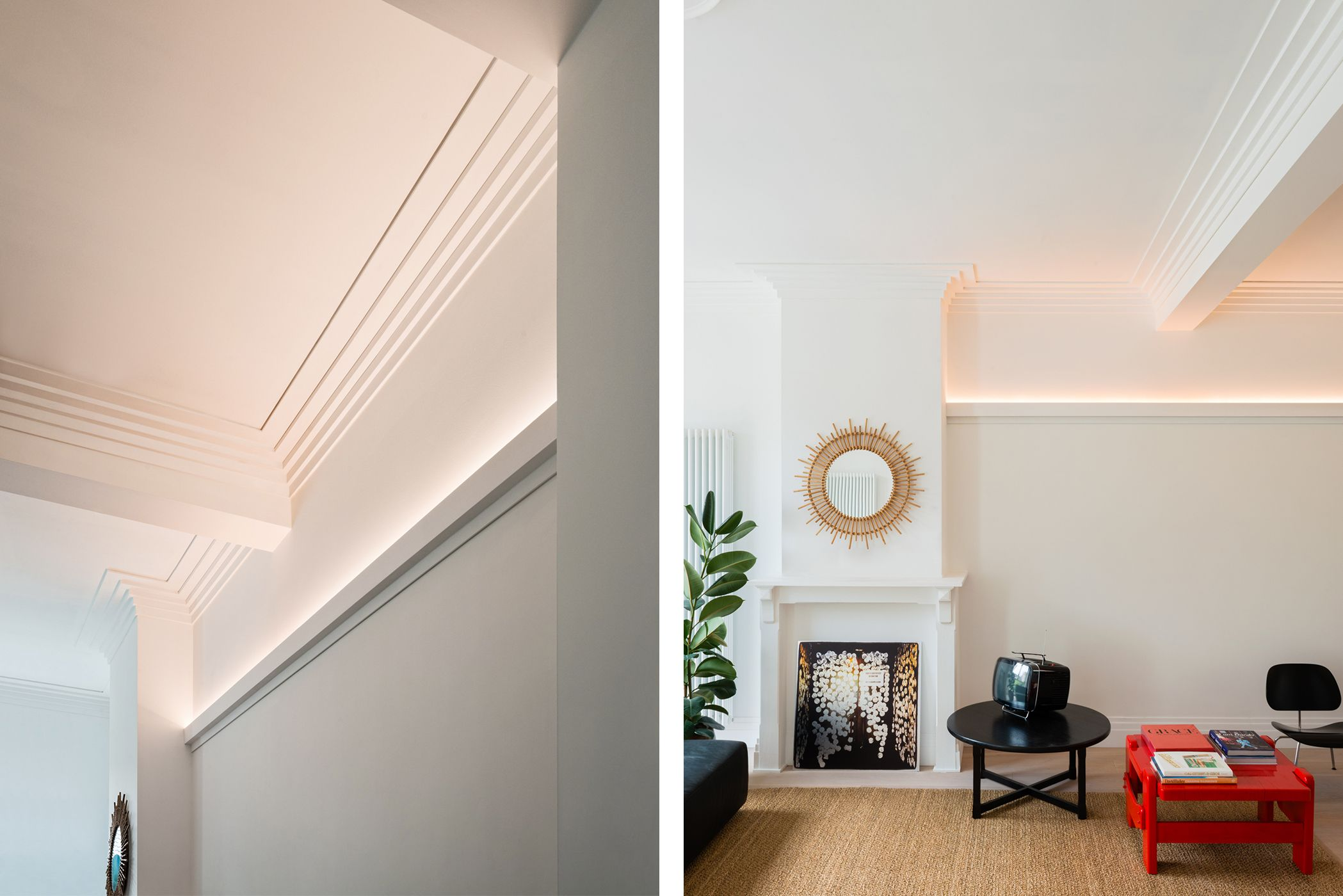 The Uplighting Coving Shop Wm Boyle Interiors