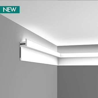 Linear LED uplighting coving
