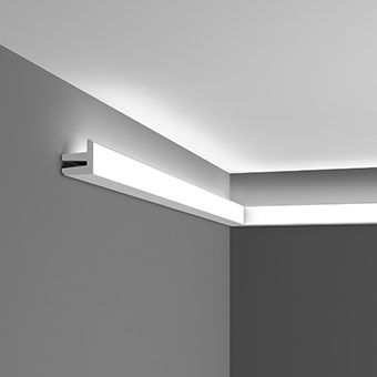 Modern uplighting coving