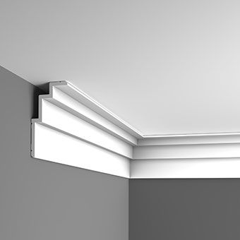 Modern stepped coving